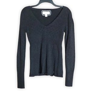 💥3/$20💥 American Eagle Gray Fitted Sweater